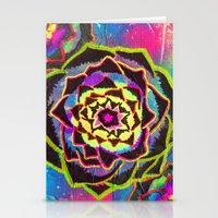 Organic Mandala Stationery Cards