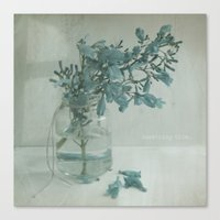 SomethingBlue Canvas Print