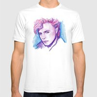 Darling David Mens Fitted Tee White SMALL