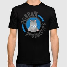 Possum Protectors SMALL Black Mens Fitted Tee