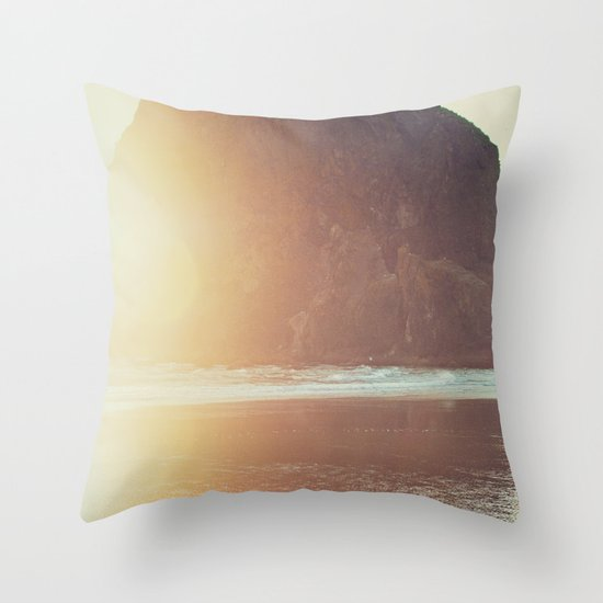 This is where I want to be... Throw Pillow