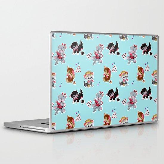 Zombie Cats Laptop & iPad Skin