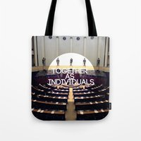 Together As Individuals Tote Bag