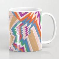 wonky chevron Mug