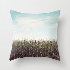 Cornfield Throw Pillow