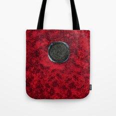 Food 1: Black Linguine on Black Plate Tote Bag