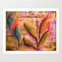 Happy Vines Art Print