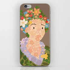 Flora by  Giuseppe Arcimboldo iPhone & iPod Skin
