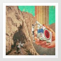.Jump. Art Print