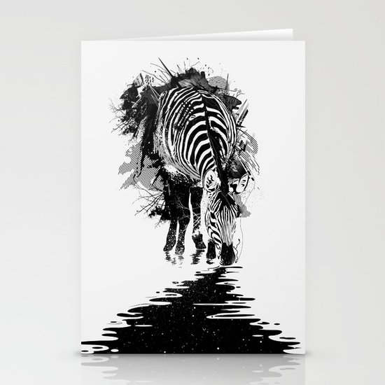 Stripe Charging Stationery Card