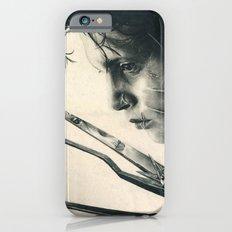 Edward Scissorhands ~ Johnny Depp Traditional Portrait Print iPhone 6s Slim Case