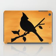 Cardinal Against Sunset iPad Case