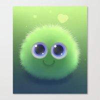 Fluffy Chu Canvas Print