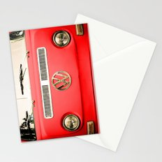 Summer of Love - Adventure Red Stationery Cards