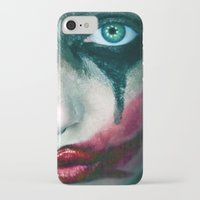 joker iPhone & iPod Cases featuring Joker by Imustbedead