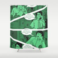 Have You Tried Turning I… Shower Curtain