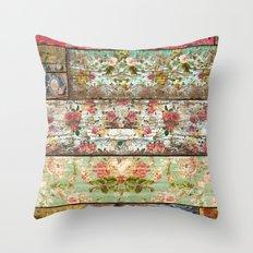 Lady Rococo Throw Pillow