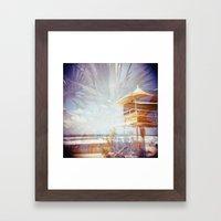 The Gold Coast Framed Art Print
