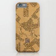 iPhone & iPod Case featuring Evening Visit by Karen Hallion Illust…