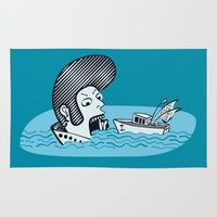 Elvis Eats Boats Rug