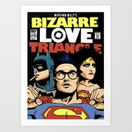 Bizarre Love Triangle: T… Art Print