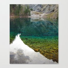 There's something really magical about this place Canvas Print