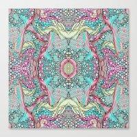 Candy Colours Canvas Print