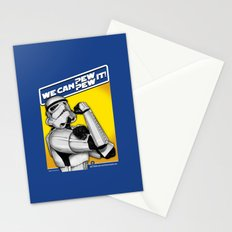 Stormtrooper: 'WE CAN PEW-PEW IT!' Stationery Cards