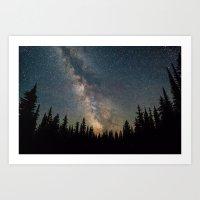 Galaxy III Art Print