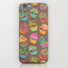 Cupcakes pattern Slim Case iPhone 6s