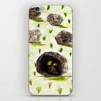 I Stuck in the Stone!!! iPhone & iPod Skin