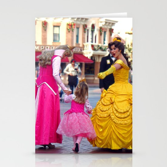 Princess Stationery Card