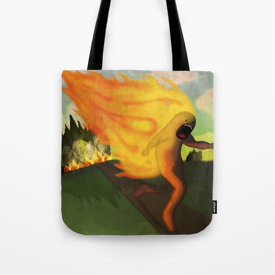 Corriendo Tote Bag