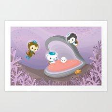 The Octonauts Pearl Rescue Art Print