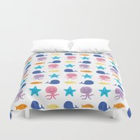 I sea you, Baby (The Essential Patterns of Childhood) Duvet Cover