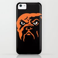 iPhone 5c Cases featuring NFL - Browns by Katieb1013