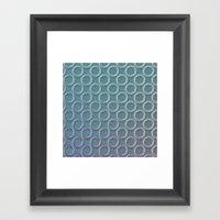 Rings Framed Art Print