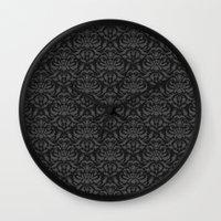 Cloud Factory Damask - R… Wall Clock