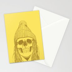 Skull Girl 3 Stationery Cards