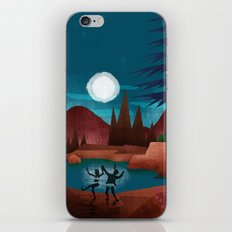 Moondance - Inspired by Wes Anderson's movie Moonrise Kingdom iPhone & iPod Skin