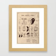 Real Genius - Movie Poster Framed Art Print
