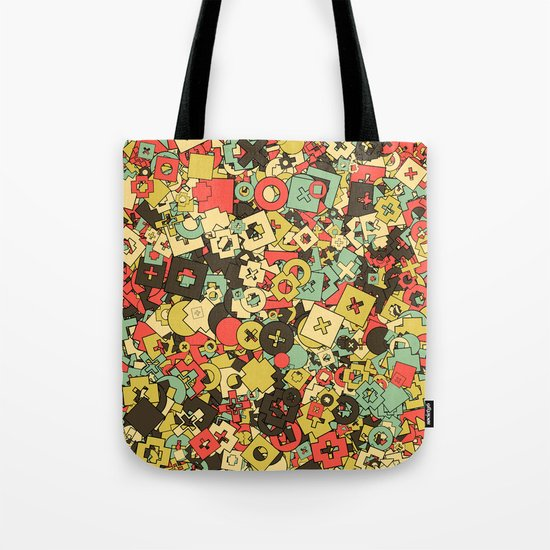 Nineteen Shapes Tote Bag
