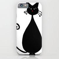 iPhone & iPod Case featuring Meow by Dawn East Sider
