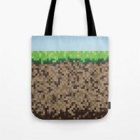 Minecraft Block Tote Bag