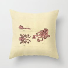 Lego Octopus Throw Pillow