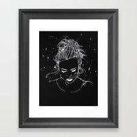 Written in the Stars Framed Art Print