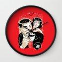 Coffee is Love Wall Clock