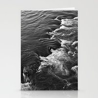 Rushing Waters  Stationery Cards