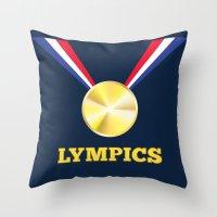 Lympics Throw Pillow