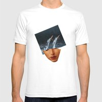 Surf Up Mens Fitted Tee White SMALL